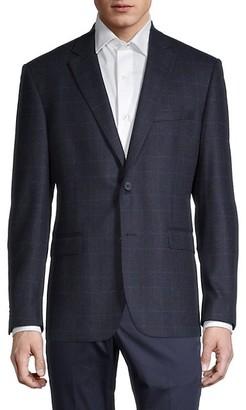 Saks Fifth Avenue Standard-Fit Wool & Cashmere-Blend Sportcoat
