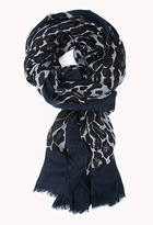 Forever 21 Leopard Print Scarf