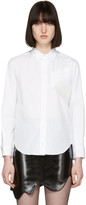Toga White Silicone Appliqué Shirt
