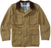 Ralph Lauren Coated Cotton Canvas Jacket