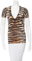 Dolce & Gabbana V-Neck Knit Top
