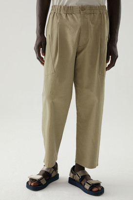 Cos Organic Cotton-Hemp Mix Angled Pocket Pants