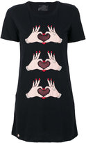 Philipp Plein appliqued T-shirt
