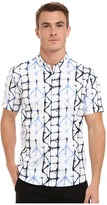 7 Diamonds Crystallize Short Sleeve Shirt Men's Short Sleeve Button Up