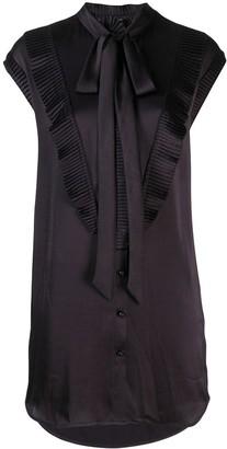 Coach Micro Pleated Shirt Dress