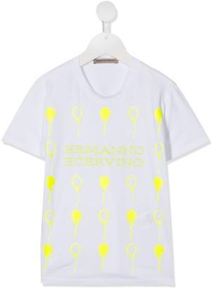 Ermanno Scervino neon print T-shirt