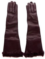 Dolce & Gabbana Lambskin Long Gloves w/ Tags