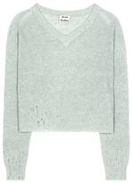 Acne Studios Antje cotton and alpaca-blend sweater