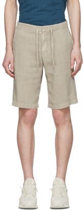 Ermenegildo Zegna Beige Linen Shorts
