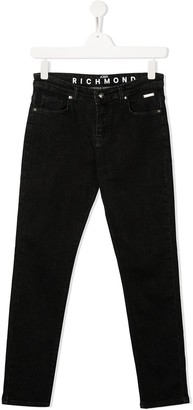 John Richmond Junior TEEN logo jeans
