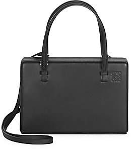 Loewe Women's Leather Top Handle Box Bag