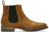 Belstaff Brown Lancaster Chelsea Boots