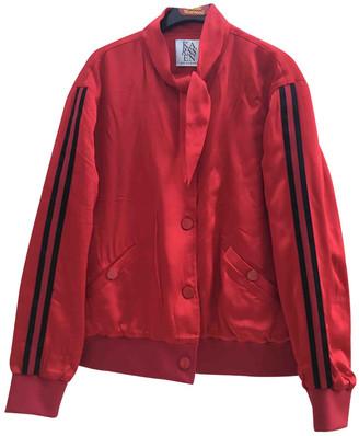 Zoe Karssen Red Velvet Jacket for Women
