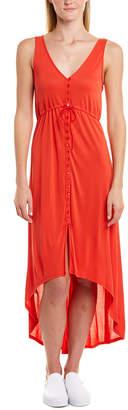 BCBGMAXAZRIA High-Low Maxi Dress