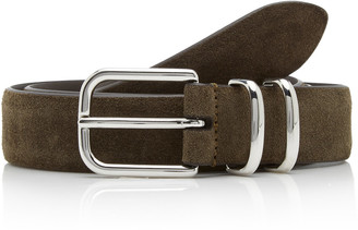 Andersons Sueded Leather Belt