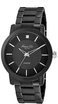 Kenneth Cole Mens Stainless Steel and Diamond Watch