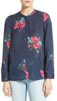 Joie Women's Devitri Floral Silk Blouse