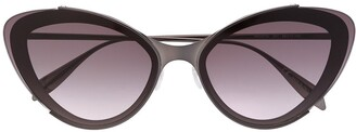 Alexander McQueen Eyewear Cat-Eye Sunglasses