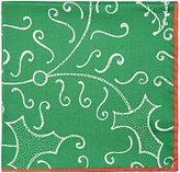 Barneys New York Men's Abstract-Print Silk Pocket Square