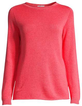 Peserico Ivory Roll-Neck Sweater