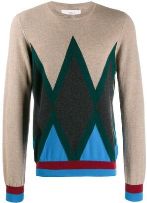 Pringle Diamond print sweater