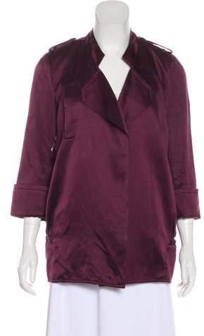 Diane von Furstenberg Silk Chefly Jacket