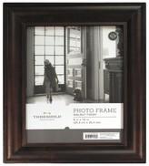 "Threshold 8""x10"" Wood Mantel Frame Stained Walnut"