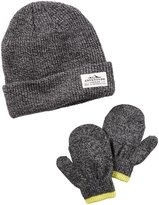 Carter's Hats and Glove Sets - Grey - 0-9 Months