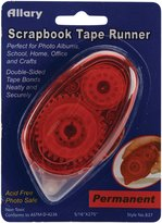 Scrapbook Allary 5/16-Inch-by-1/4-Inch Permanent Tape Runner