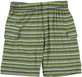 Kickee Pants Print Boy Short (Toddler/Kid) - Island Boy Stripe-9
