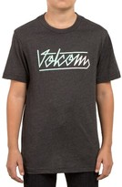 Volcom Boy's Flowscript Graphic T-Shirt
