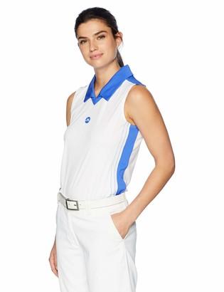 J. Lindeberg Women's Sleeveless Logo Polo Shirt