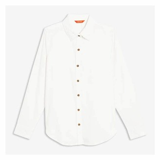 Joe Fresh Women's Corduroy Shirt, Black (Size S)