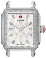 Michele Deco Diamond Watch Head, 33mm x 35mm
