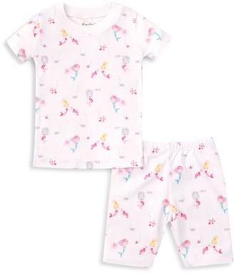 Kissy Kissy Baby's & Little Girl's Mermaid Glamour 2-Piece Pajama Set