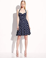 Betsey Johnson Sweetheart Polka Dot Dress