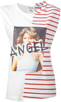 Semi-Couture Semicouture - Angel tank top - women - Cotton - M