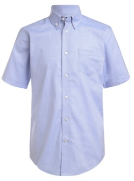 Nautica Little Boys Stretch Blue Oxford Shirt