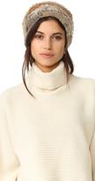 Jocelyn Colorblock Fur Knit Hat