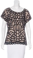 DAY Birger et Mikkelsen Lace Short Sleeve Top