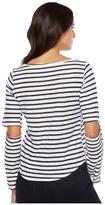 LnA Odeon Stripe Tee Women's T Shirt
