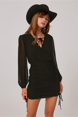 Finders Keepers PIA DRESS black