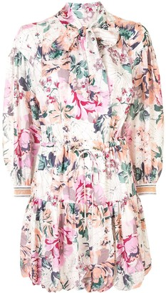 Ginger & Smart Floral Charts print dress