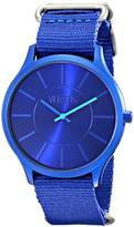Versus By Versace Women's SO6040013 Less Analog Display Quartz Blue Watch