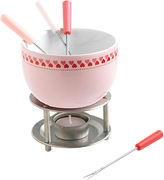 Mastrad Little Hearts Pink Chocolate Fondue Set