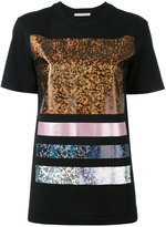 Christopher Kane foil detail t-shirt