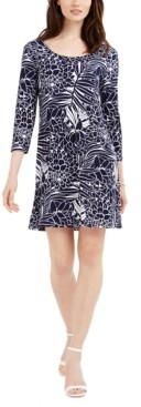 Pappagallo Erin Floral-Print Sheath Dress