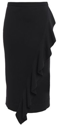Carven Ruffled Merino Wool Skirt