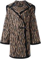 Barbara Bui knitted hooded coat