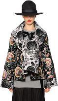 Antonio Marras Reversible Floral Jacquard Coat